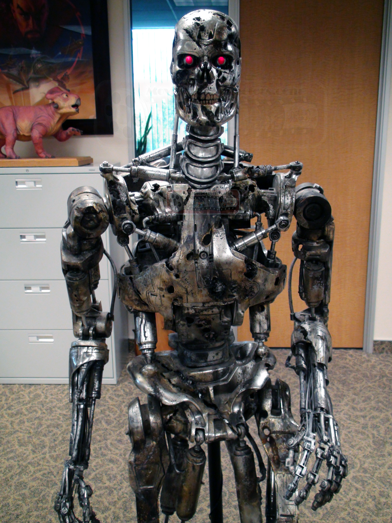 Auction Interview: Joe Maddalena:Terminator 2 T800 Endoskeleton