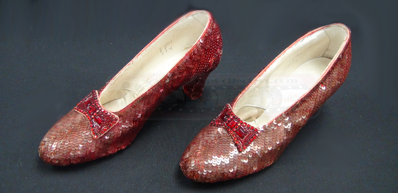 Wizard Of Oz Ruby Slippers Under House The original ruby slippersWizard Of Oz Ruby Slippers Under House