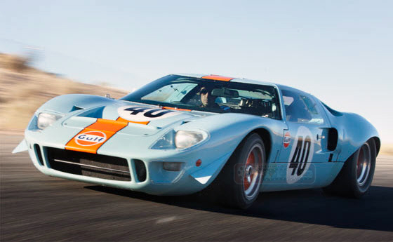 Steve Mcqueen Le Mans 1968 Ford Gt40 Sells For Record