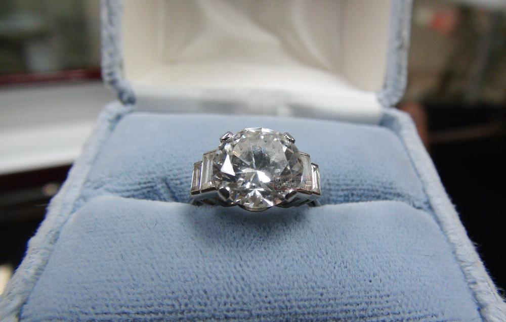 Wedding Ring Auctions 5 Vintage TitanicRing